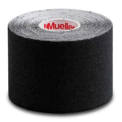 MUELLER KINESIOLOGY TAPE®, BLACK I-STRIP ROLL