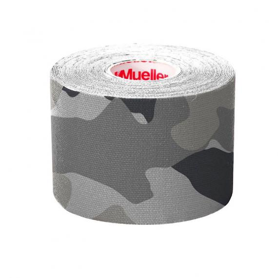 PRE-CUT KINESIOLOGY TAPE GRAY CAMO I-STRIP ROLL